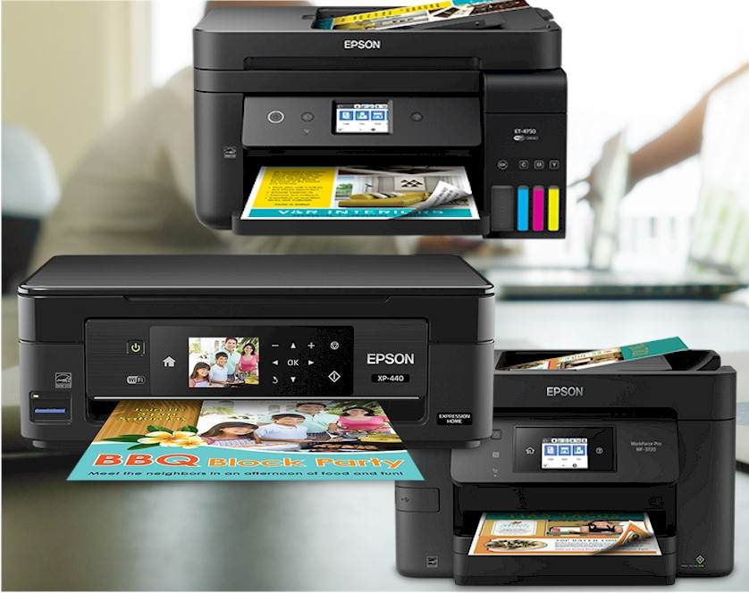 Réparation EPSON - Gamme EPSON WORKFORCE Séries : WORKFORCE PRO WF-C5210DW